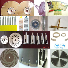 electroplated diamond tools & diamond tools