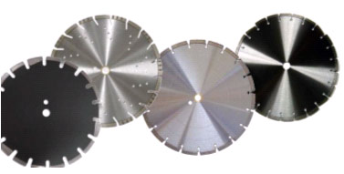 laser welded & silver brazed diamond blades