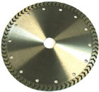 arrow turbo sintered blade