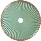 turbo wave sintered blade